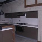 Cucina disegno arch. Elena Piulats prodotta da rd arredamenti