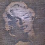 Litografia del volto di Marilyn Monroe prodotta da rd arredamenti s.r.l. di Roma