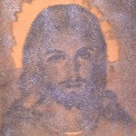 Litografia del volto di cristo prodotta da rd arredamenti s.r.l. di Roma