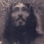 Litografia del volto di cristo crocifisso prodotta da rd arredamenti