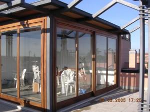 Veranda in legno e vetro prodotta dalla falegnameria RD ...