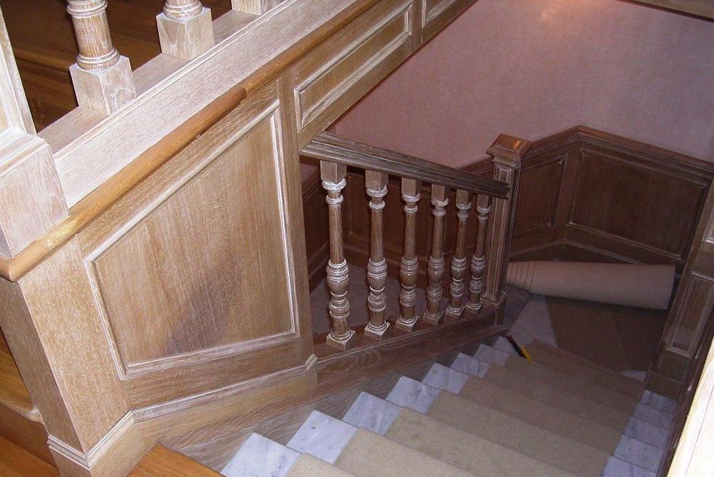 Marzo 2011 falegnameria rd arredamenti s r l roma for Corrimano in legno roma