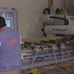 Immagine del reparto CNC della falegnameria rd arredamenti di roma