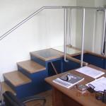 Scala moderna prodotta dalla falegnameria rd arredamenti