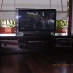 Mobile TV realizzato dalla falegnameria rd arredamenti di roma