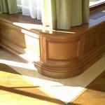 Boiserie realizzata dalla falegnameria rd arredamenti