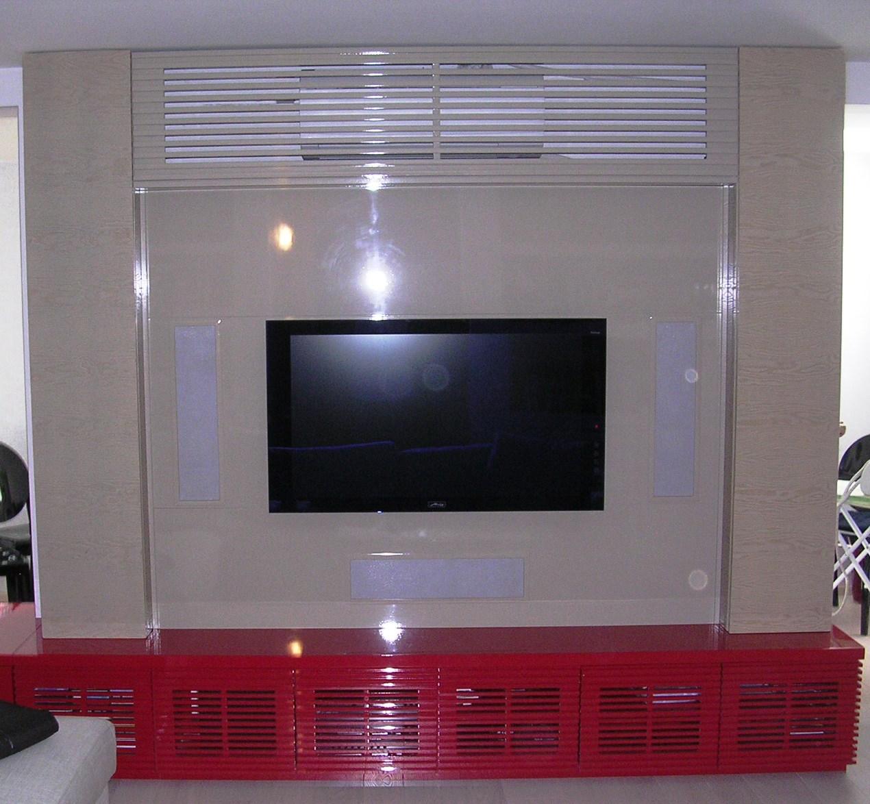 Porta tv falegnameria rd arredamenti s r l roma armadi - Mobile soggiorno fai da te ...