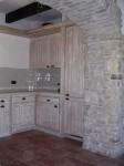Cucina in muratura arte povera rd arredamenti roma
