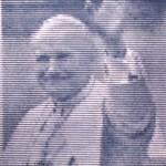 Litografia di papa Giovanni Paolo II prodotta da rd arredamenti s.r.l. di Roma