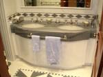 bagno doppio lavandino falegnameria rd arredamenti roma