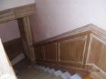 scala in rovere sbiancato falegnameria rd arredamenti roma