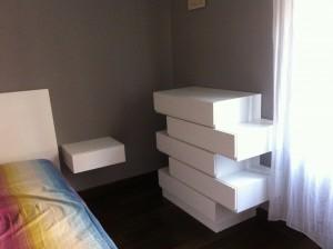 Camera da letto moderna falegnameria rd arredamenti s r l roma armadi su misura cucine - Ikea cassettiere camera da letto ...